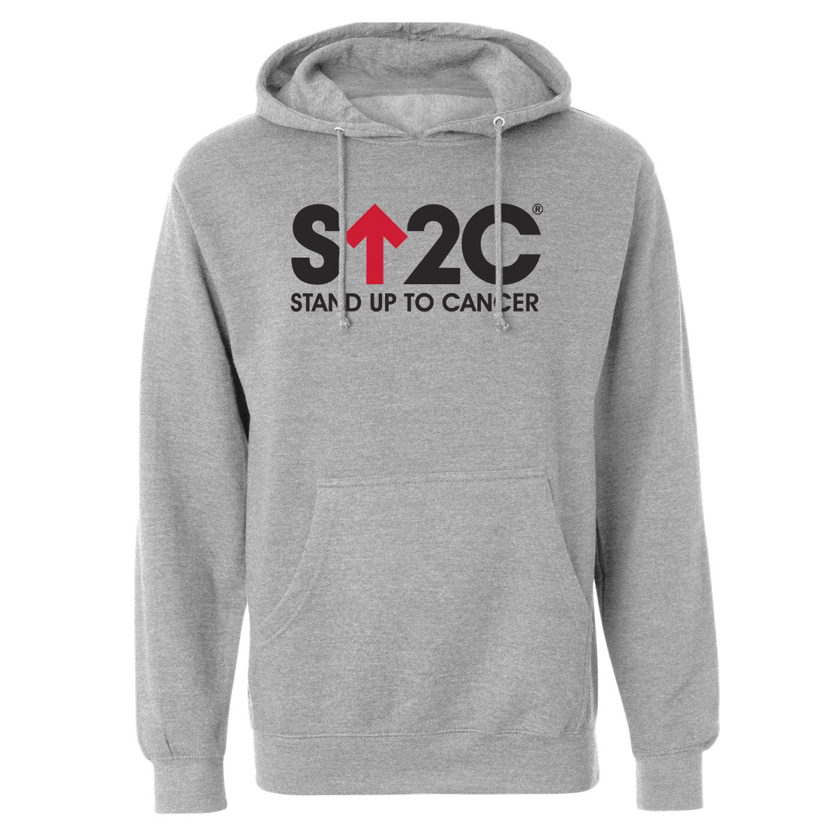 SU2C Short Logo Pullover Hoodie (Grey)
