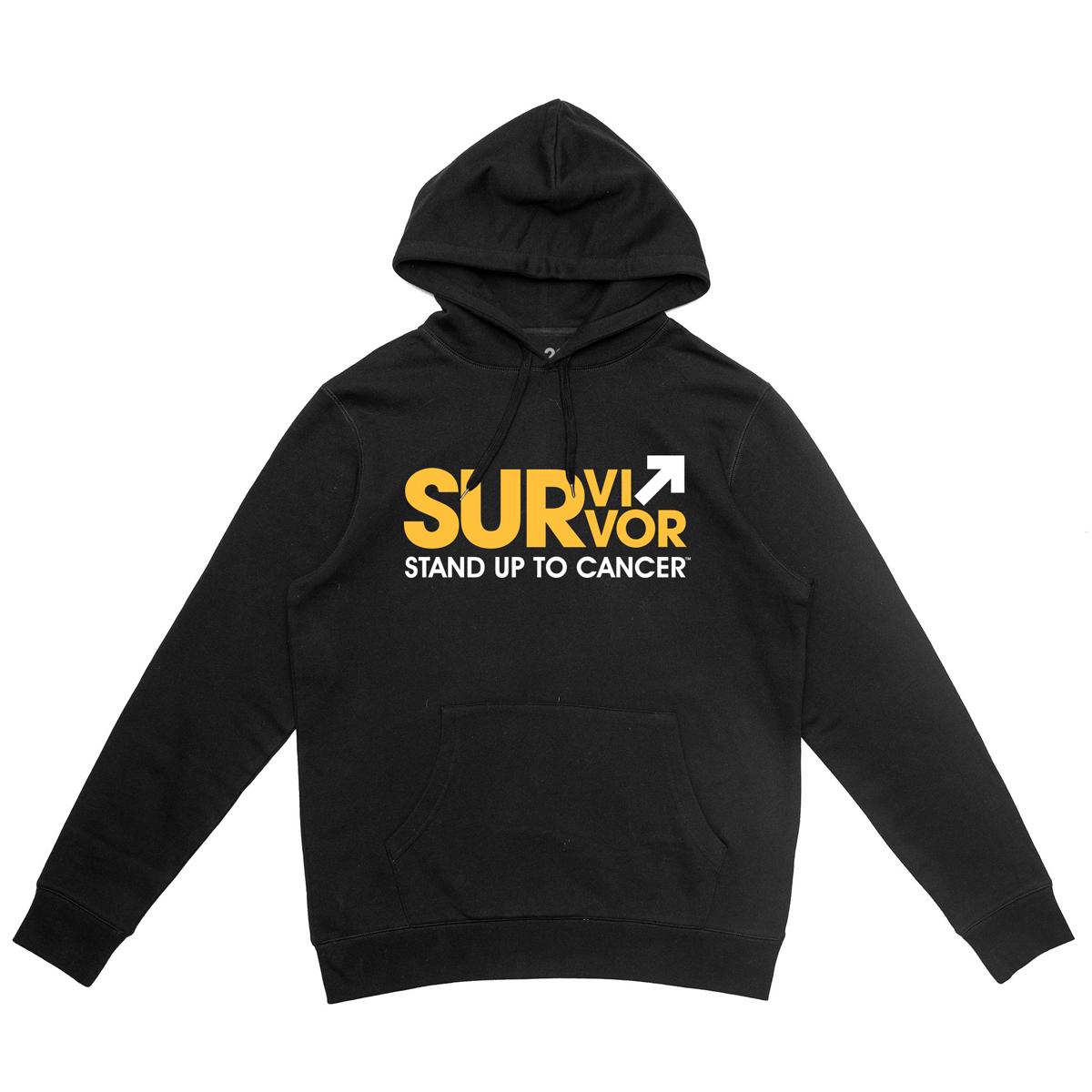 SU2C Survivor Pullover Hoodie (Black)