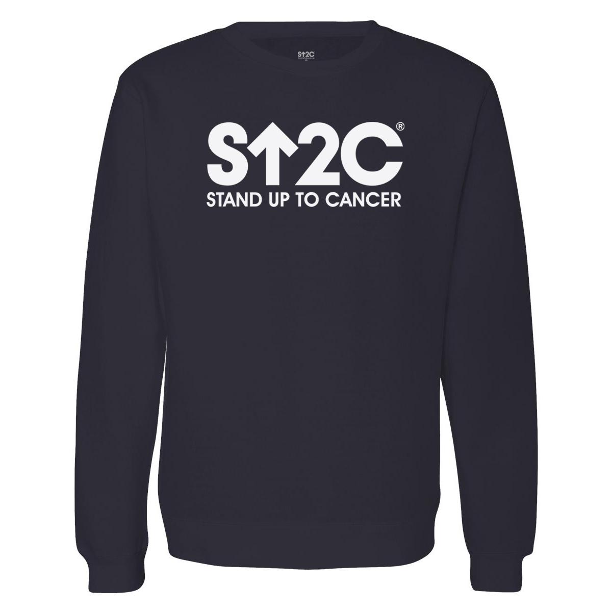 SU2C Short Logo Crewneck Sweatshirt (Navy)