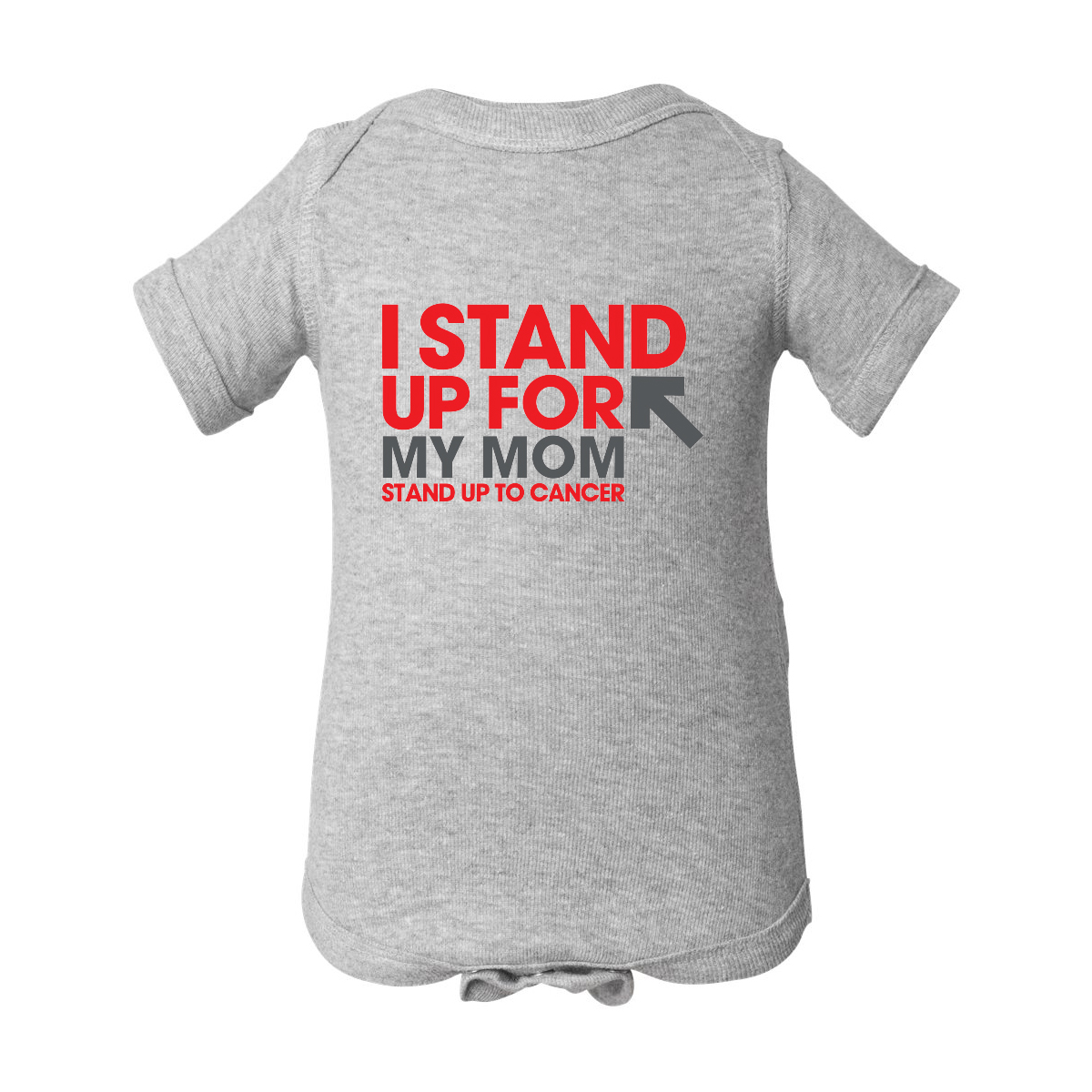 SU2C I Stand Up For My Mom Onesie
