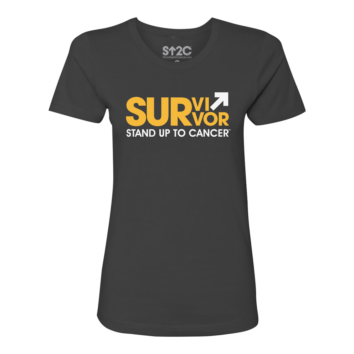 SU2C Survivor Women's T-Shirt (Heavy Metal)