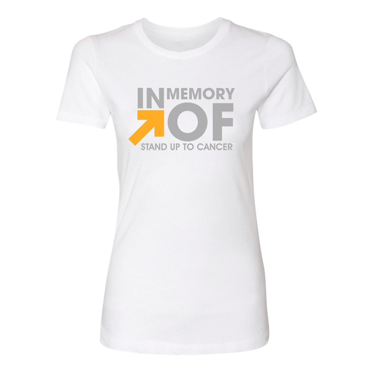 SU2C In Memory Of Women's T-Shirt (White)