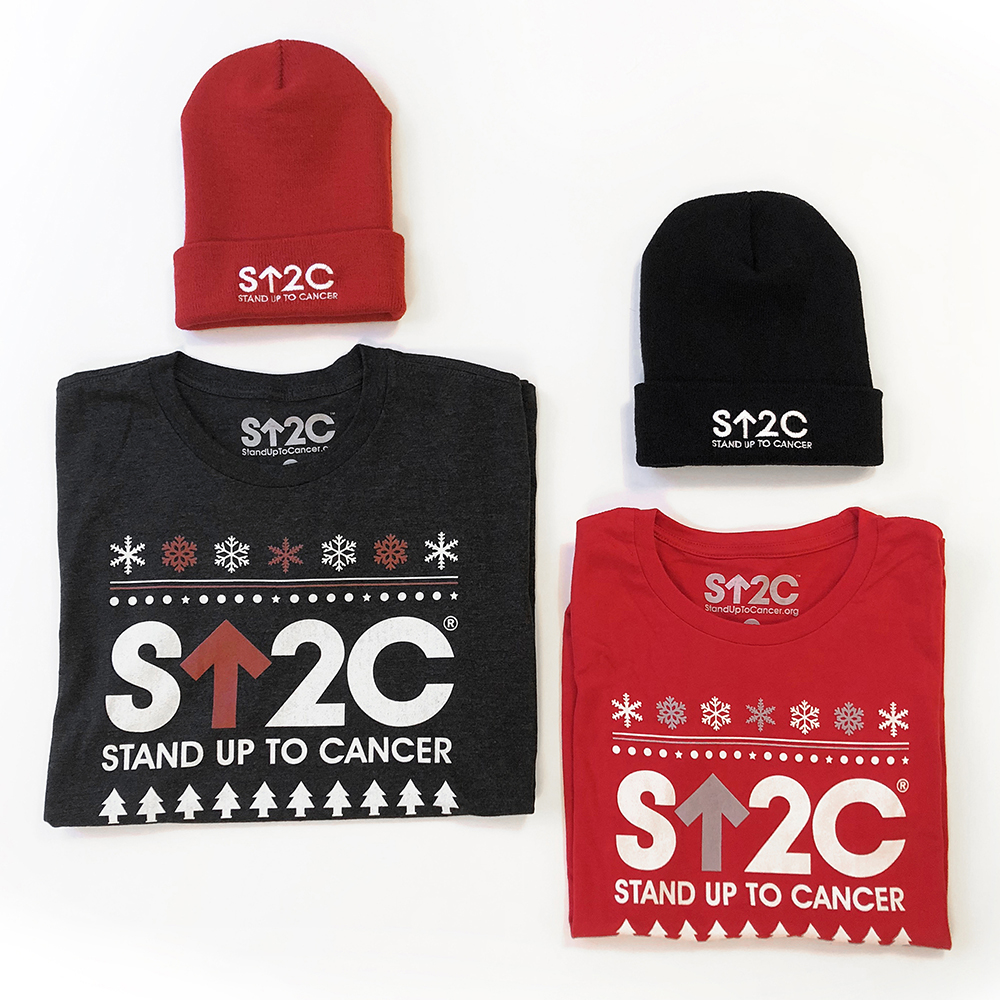 SU2C Short Logo Holiday Women's T-Shirt (Red)