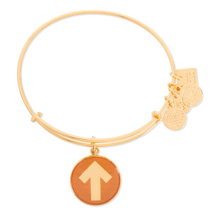 SU2C Enamel Bracelet by Alex and Ani, Gold