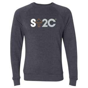 SU2C Men's Short Logo Pullover, Midnight Navy
