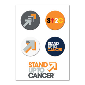 SU2C Buttons, Set of 4