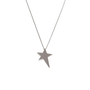 Jennifer Meyer for SU2C Sterling Silver Small Star Necklace