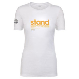 SU2C Women's Stand Message T-Shirt