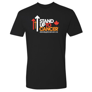 SU2C Men's Full Logo Canada Men's T-Shirt, Black