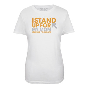 SU2C I Stand Up For My Mom Women's T-Shirt