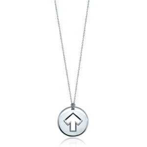 SU2C Alex Woo Sterling Silver Charm Necklace
