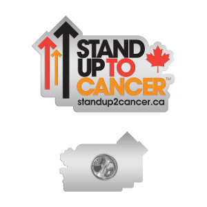 SU2C Full Logo Canada Lapel Pin