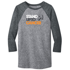 SU2C Men's Baseball T-Shirt, Grey