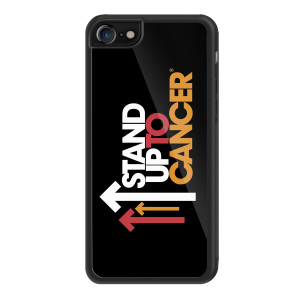 SU2C iPhone 8 Cover, Full Logo (Black)