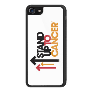 SU2C iPhone 8 Cover, Full Logo (White)