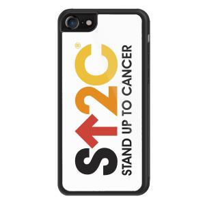 SU2C iPhone 8 Cover, Short Logo (White)