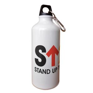 SU2C Short Logo Aluminum Water Bottle