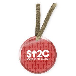 SU2C Short Logo Arrow Ornament