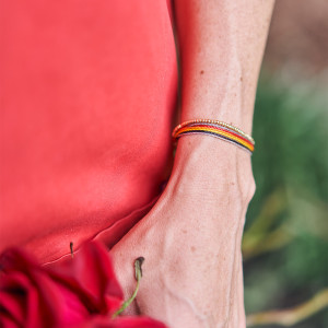 Golden Thread Cords of Strength Bracelet