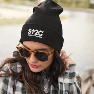 SU2C Short Logo Beanie (Black)