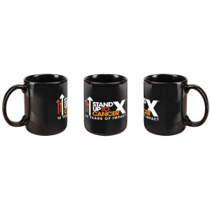 SU2C 10th Year Logo Mug (Black)
