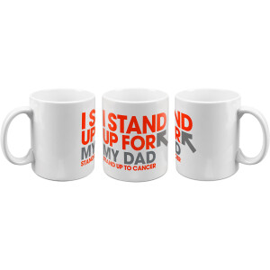 SU2C I Stand Up For My Dad Mug