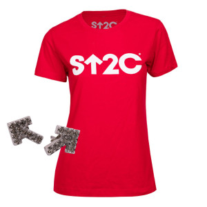 SU2C Women's Short Logo Boyfriend T-Shirt Bundle