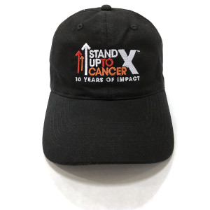 SU2C 10th Year Logo Baseball Hat