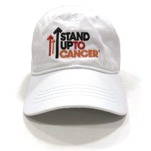 SU2C Full Logo Baseball Hat (White)