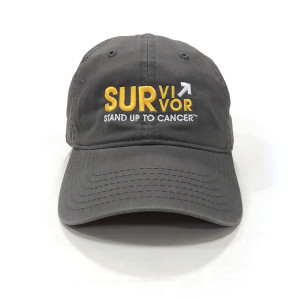 SU2C Survivor Baseball Hat (Grey)