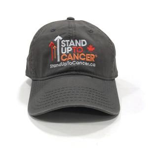 SU2C Canada Logo Baseball Hat (Grey)