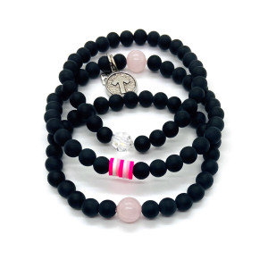 Stand Up to Cancer TRIPLE STACK Bracelet