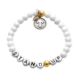 SU2C World Cancer Day STAND UP Bracelet