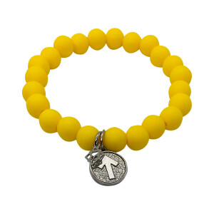 Stand Up To Cancer SURVIVOR Silicone Beaded Bracelet