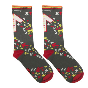 Stand Up to Cancer - AYK Cares Adult Socks
