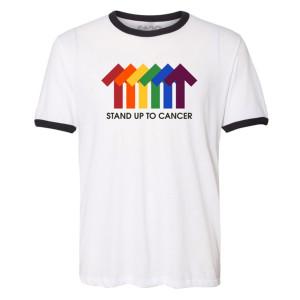 SU2C Pride Arrows Ringer T-shirt