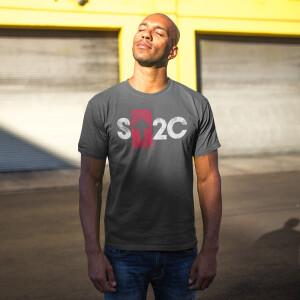 SU2C Short Logo Boxed Arrow T-shirt