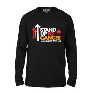 SU2C Full Logo Canada Men's Long Sleeve T-Shirt