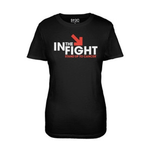 SU2C In The Fight Women's Shirt, Black
