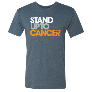 SU2C Men's Full Logo T-Shirt, Indigo