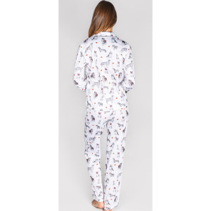 PJ Salvage x SU2C Dog Print Pajama Set