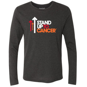 SU2C Full Logo TriBlend Long Sleeve Shirt