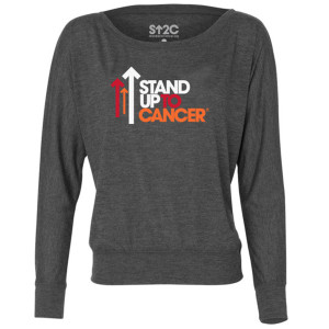 SU2C Full Logo Women's Long Sleeve T-Shirt, Dark Heather