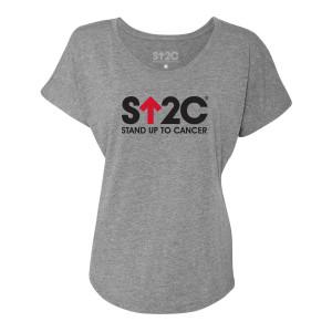 SU2C Short Logo Women's Dolman T-Shirt