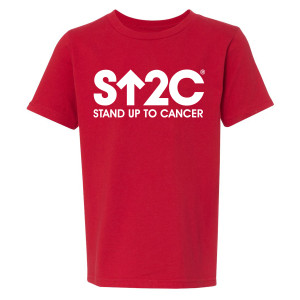 SU2C Short Logo Youth T-Shirt (Red)