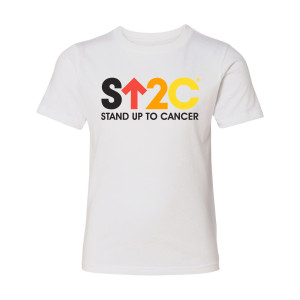 SU2C Short Logo Youth T-Shirt (White)