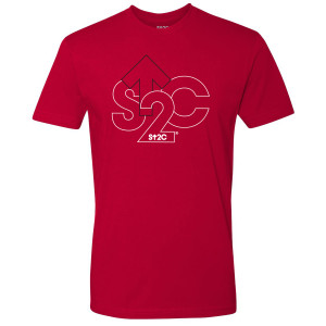 SU2C Outline Logo T-Shirt (Red)
