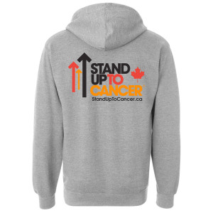 SU2C Full Logo Canada Zip Up Hoodie