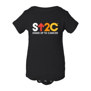 SU2C Short Logo Onesie (Black)