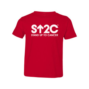 SU2C Short Logo Toddler T-Shirt (Red)